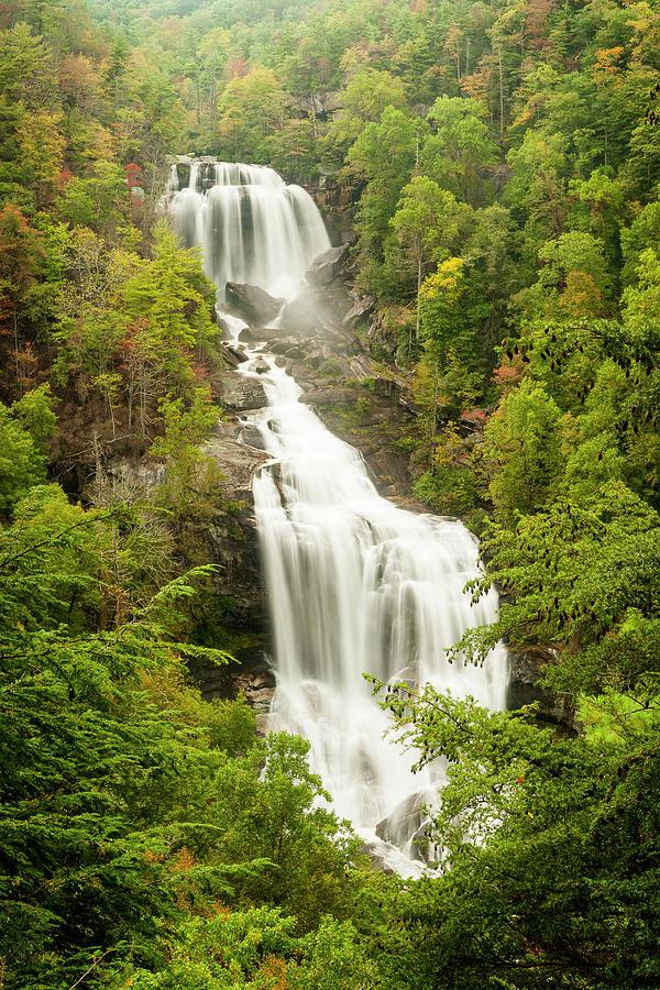 Upper Whitewater Falls by Rob Hemphill