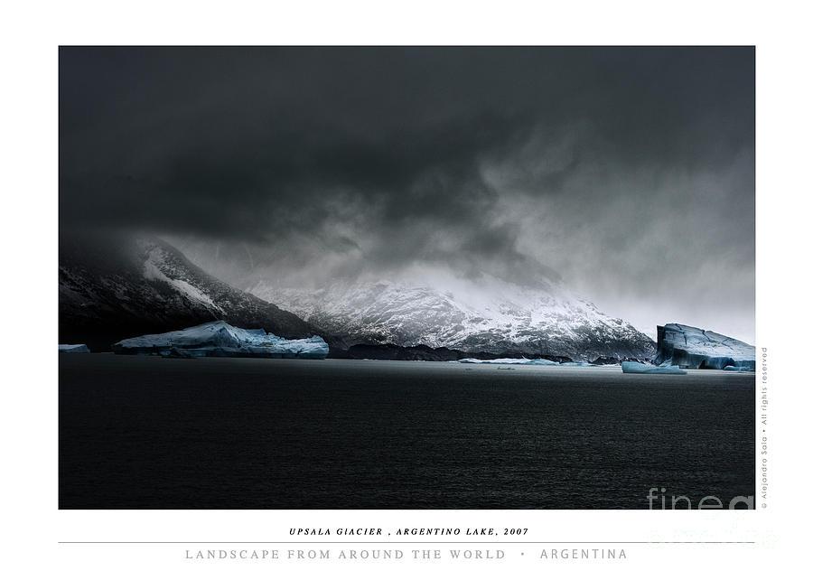 Upsala Glacier, Argentino Lake, 2007 by Alejandro Sala