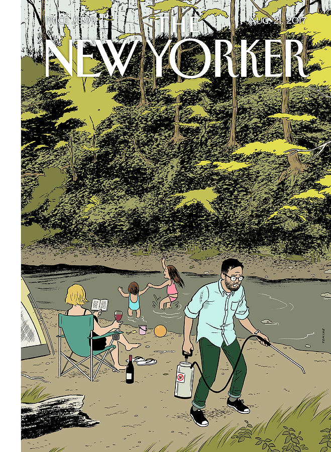 Upstate Digital Art by Adrian Tomine