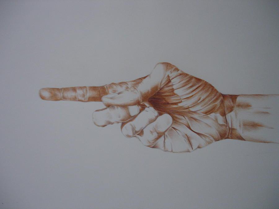 Upwards Drawing by Aaron Koshy