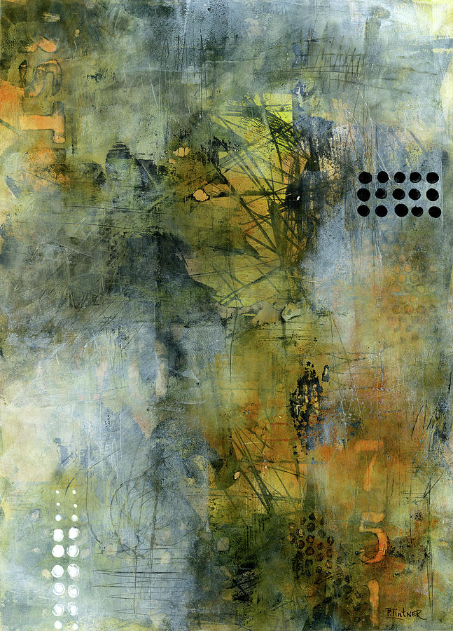 Urban Abstract Warm and Grey by Patricia Lintner