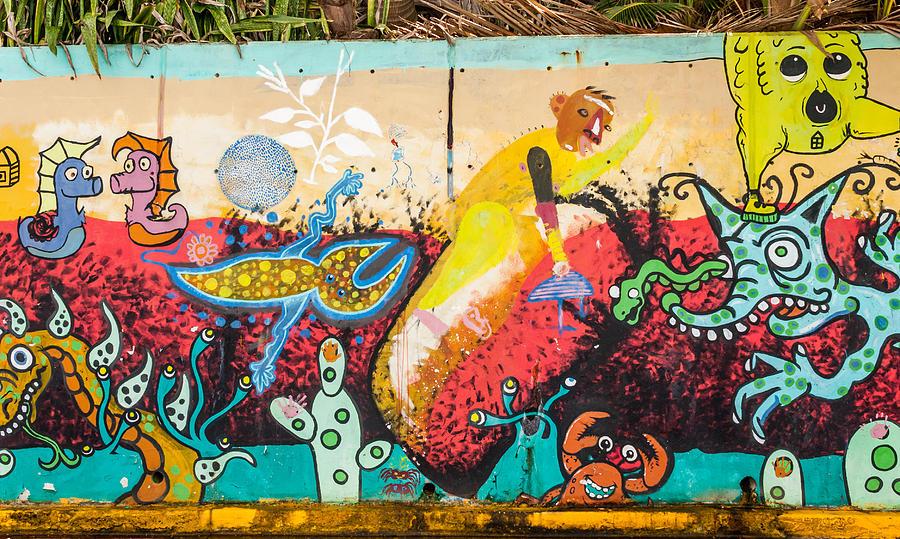 Paint Photograph - Urban Art 4 by Jenifer Kim