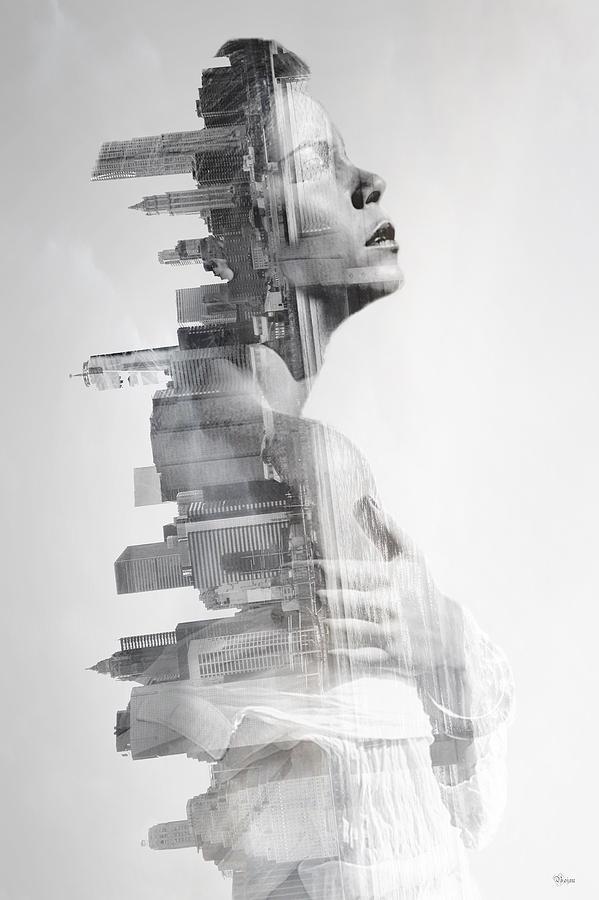 Girl Photograph - Urban by Bojan Jevtic
