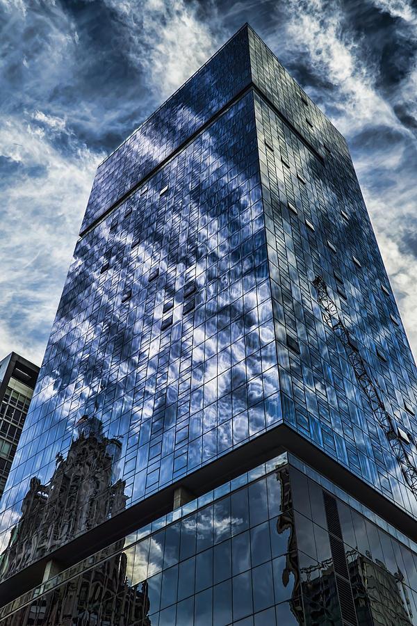 Modern Architecture Photograph - Urban Clouds Reflecting  by Sven Brogren