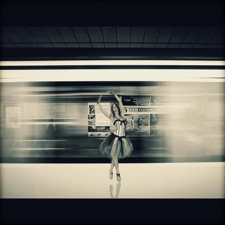 Dancing Digital Art - Urban Dance by Joao Fe