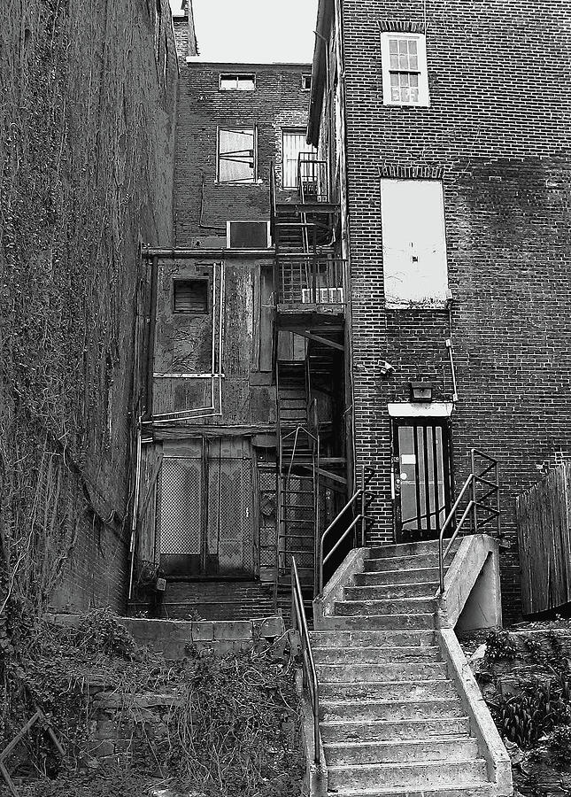 2d Photograph - Urban Decay by Brian Wallace