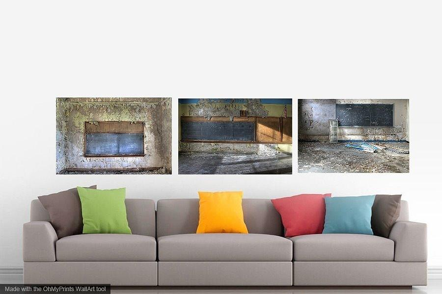 living room photograph urban decay contemporary home decor by jane linders - Contemporary Home Decor