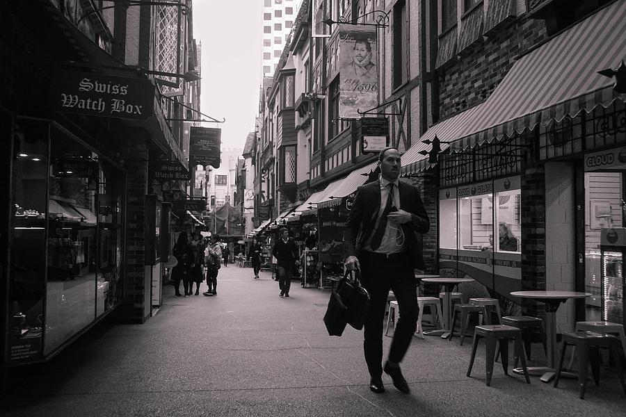 Perth Photograph - Urban Detail by Paki OMeara