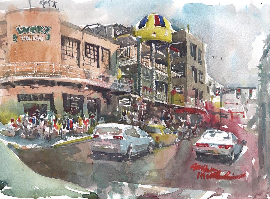 Jamaica Painting - Urban Distress by Gaston McKenzie