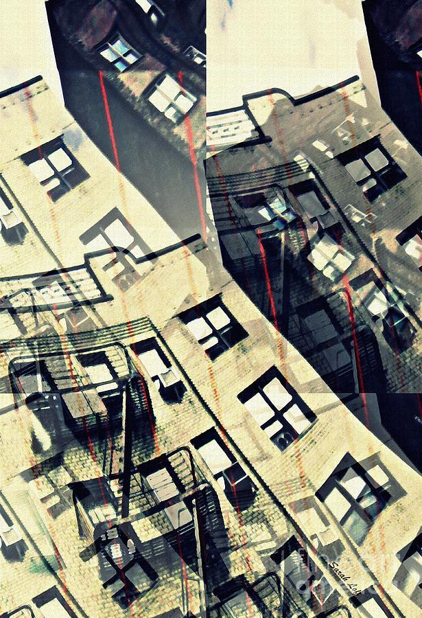 Building Photograph - Urban Distress by Sarah Loft