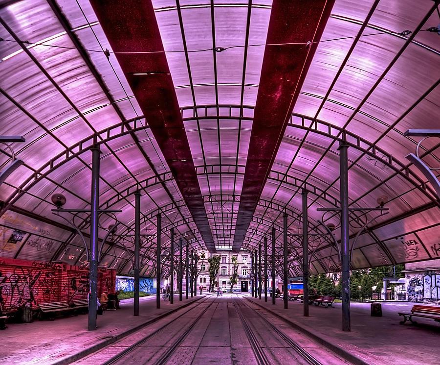 Tram Photograph - Urban Express by Evelina Kremsdorf