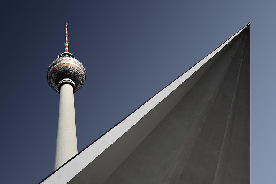 Berlin Photograph - Urban Geometry by Markus Kuhne