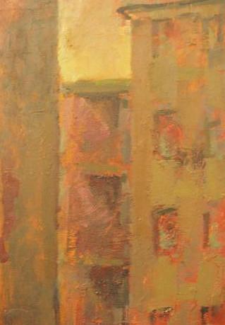 City Painting - Urban by L Turbazzi