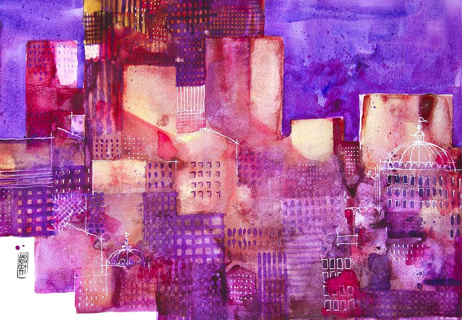 Urban Landscape 4 Painting by Alessandro Andreuccetti