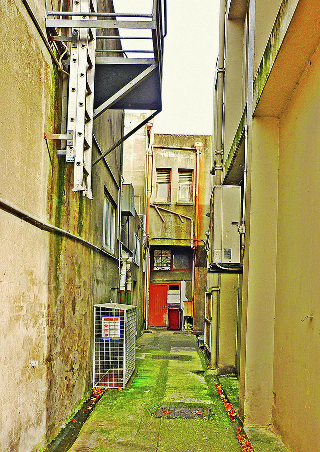 City Photograph - Urban Landscape-blind Alley by Kenneth William Caleno