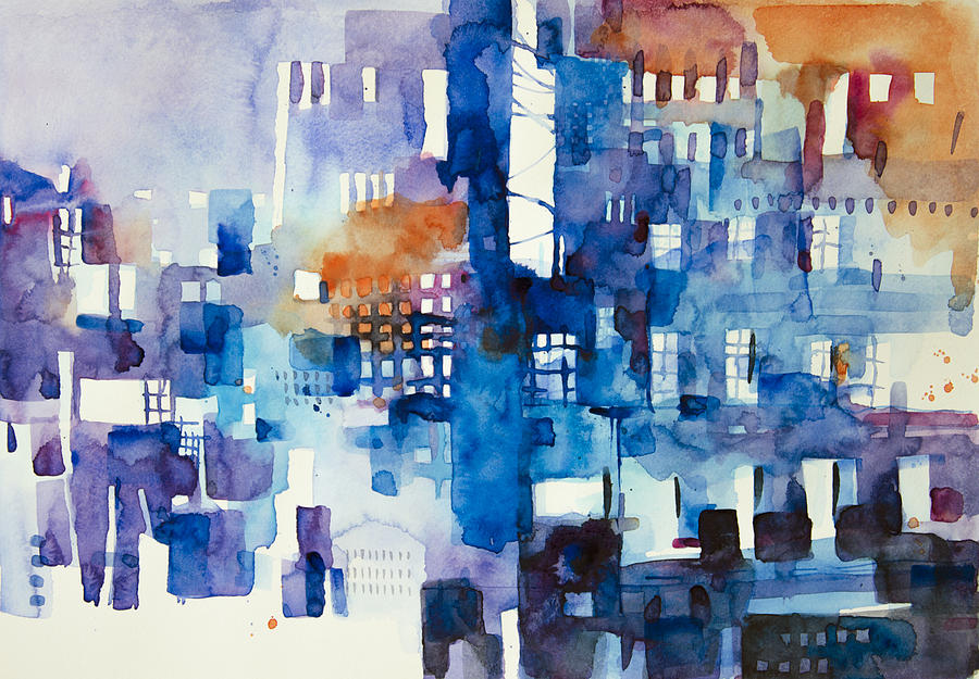 Architecture Painting - Urban landscape no.1 by Alessandro Andreuccetti