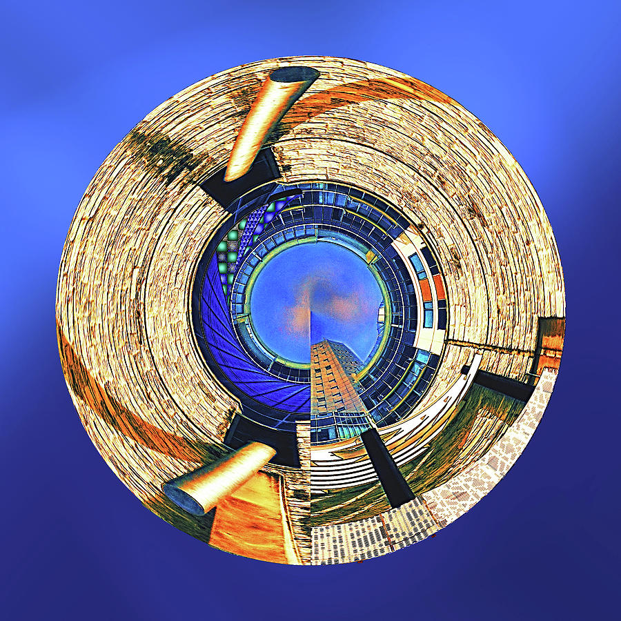 City Digital Art - Urban Order by Wendy J St Christopher