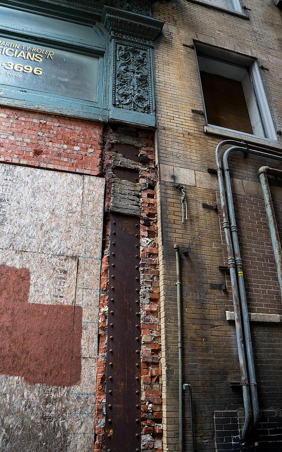 Urban Photograph - Urban Reconstruction by Denise McKay