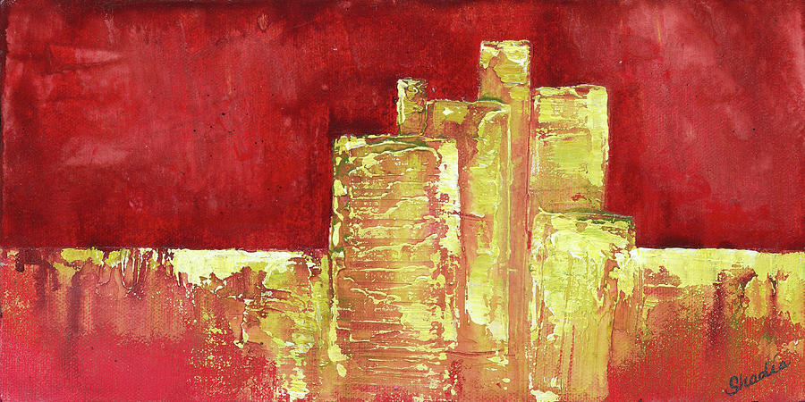 Urban Renewal I Painting