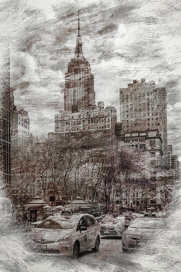 Urban Rush Digital Art