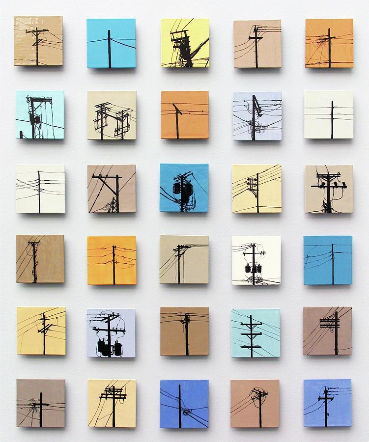 Tile Relief - Urban Sentinels by Jason Messinger