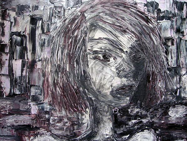 Portrait Painting - Urban Sprawl by Jenni Walford