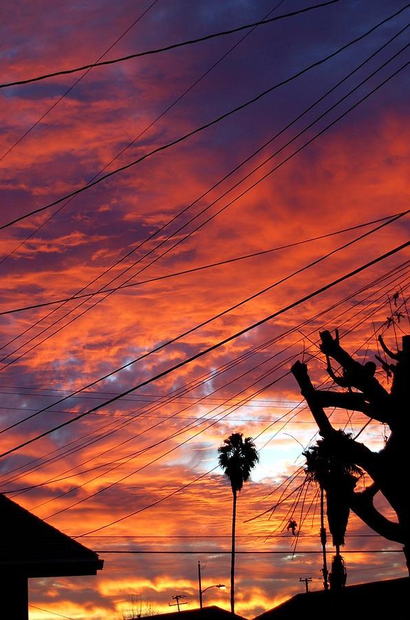 Sun Photograph - Urban Sunrise by Shannon McMannus