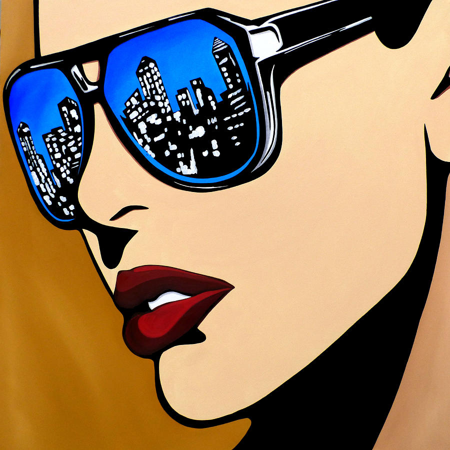 Urban Vision Painting by Tom Fedro - Fidostudio