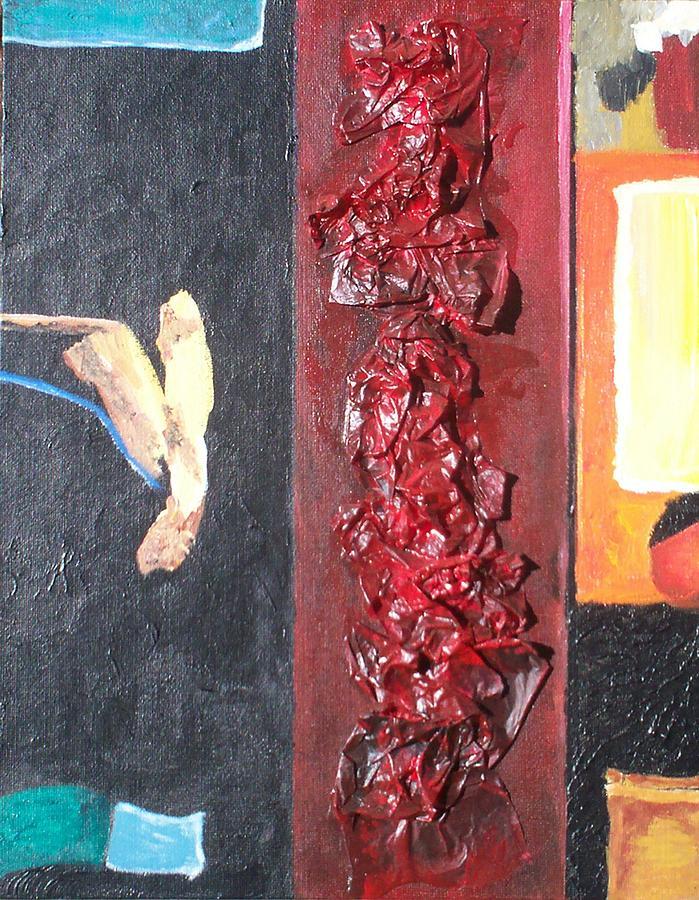 Abstract Painting - Urbane by Jennifer Skalecke