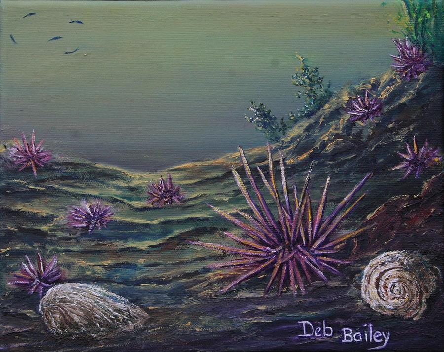 Urchin patch by Debra Bailey