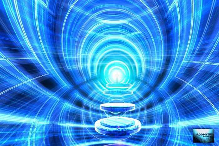Spiritual Digital Art - Uribis Deo by Rod  Myers