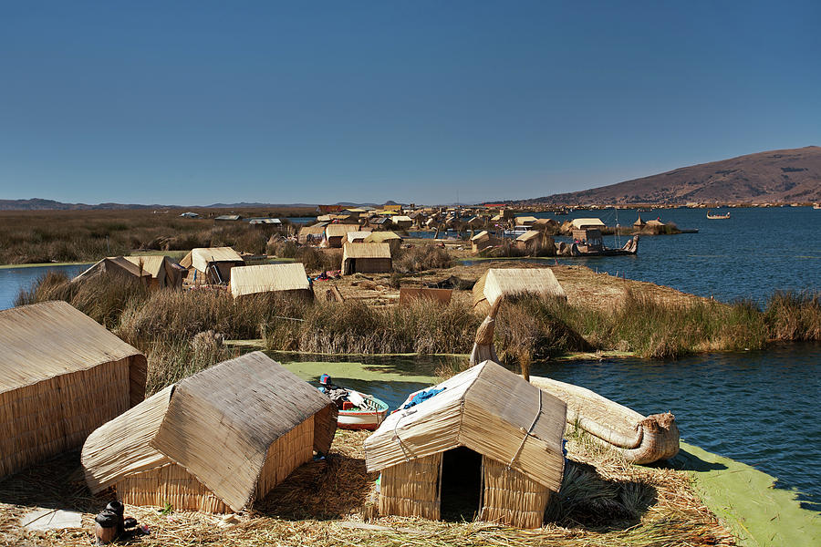 Uros Islands, Lake Titicaca Photograph