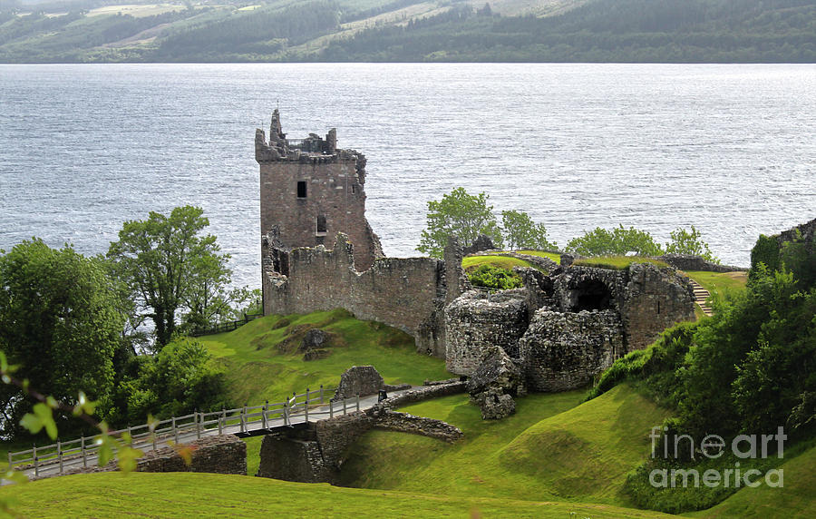 Urquhart Castle on Loch Ness by Gregory Dyer