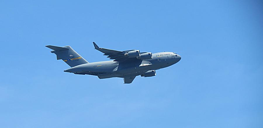 U.s. Air Force Cargo Plane Photograph by Krystal Bergeron