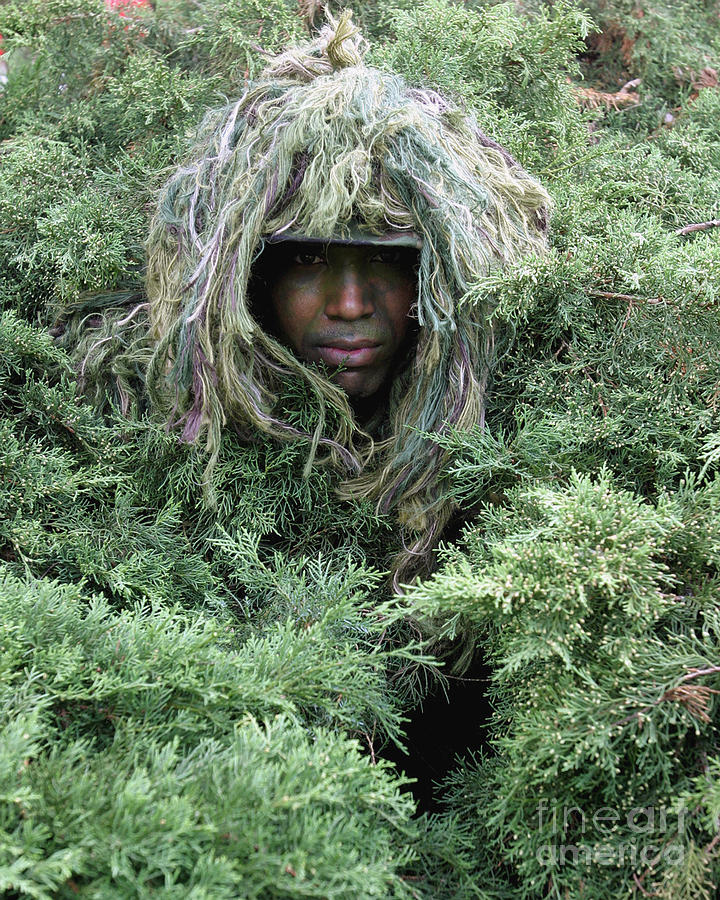 Blending Photograph - U.s. Army Soldier Demonstrates The Use by Stocktrek Images