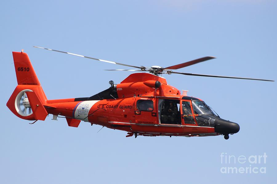 Us Coast Guard Helicopter Mh-65