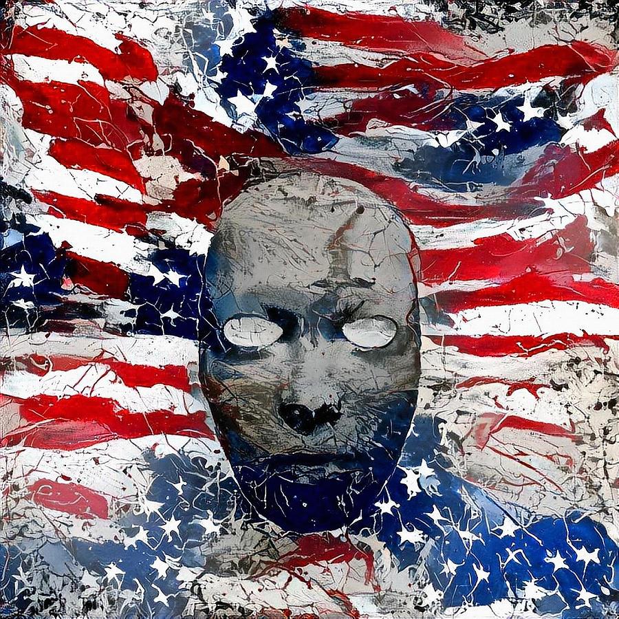 Us National Colors Digital Art
