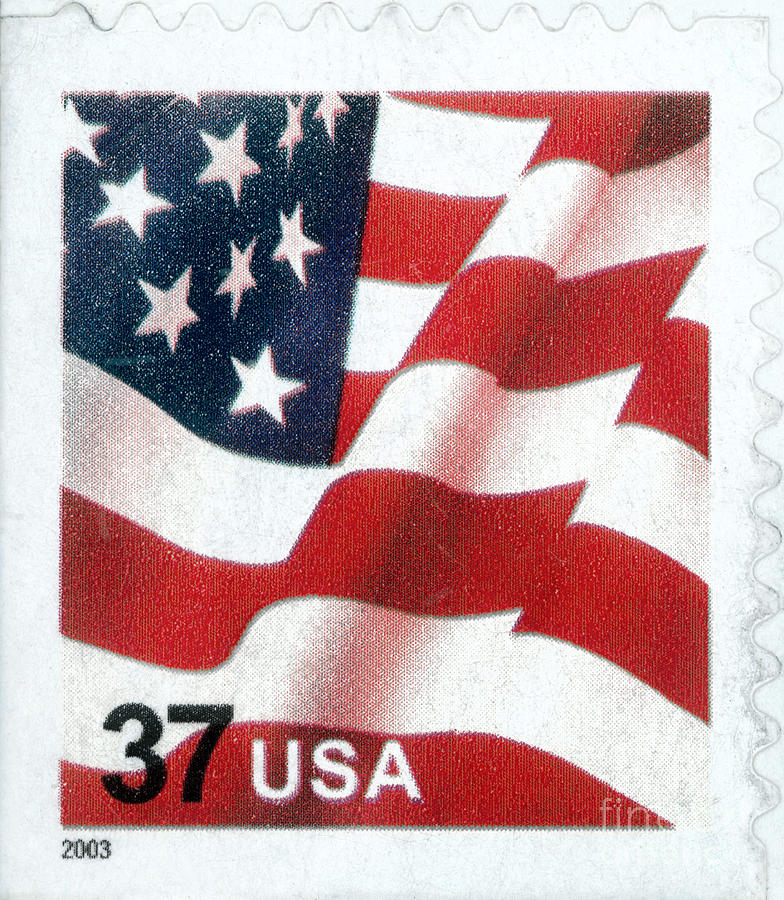 U S Postage Stamp 2003 Photograph By Granger