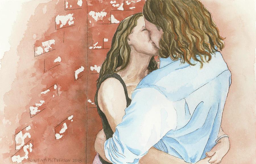 Nola Painting - Us by Rowena McPherson