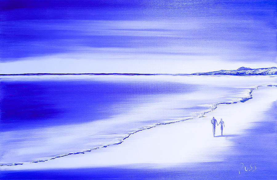 Us Two Forever in Blue by Russell Collins