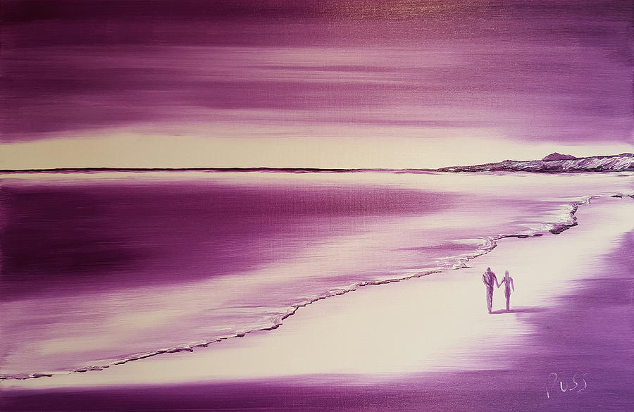 Us Two Forever in Violet by Russell Collins