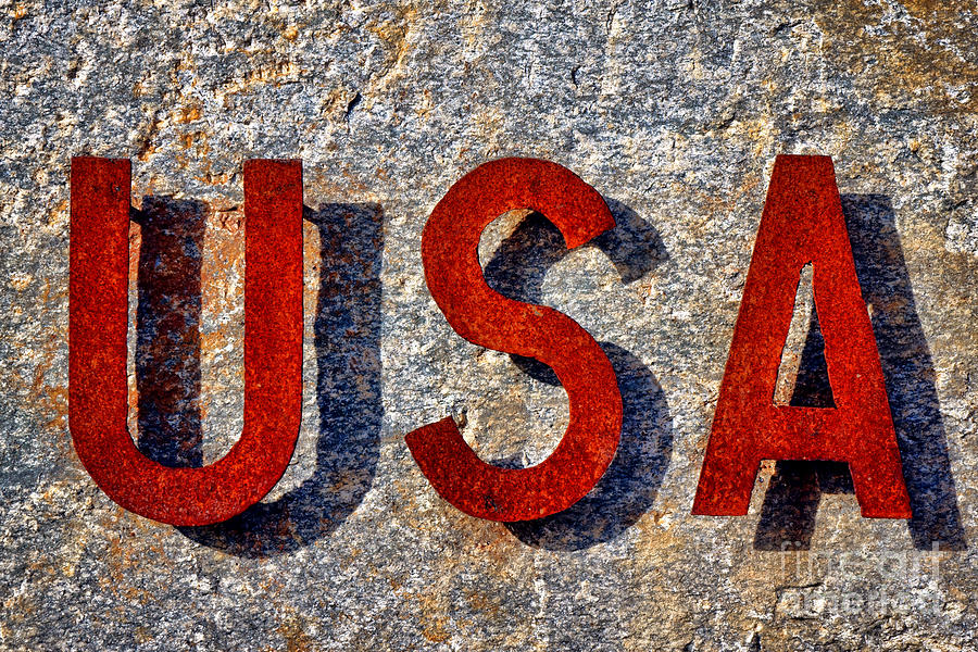 Usa Photograph - USA by Olivier Le Queinec