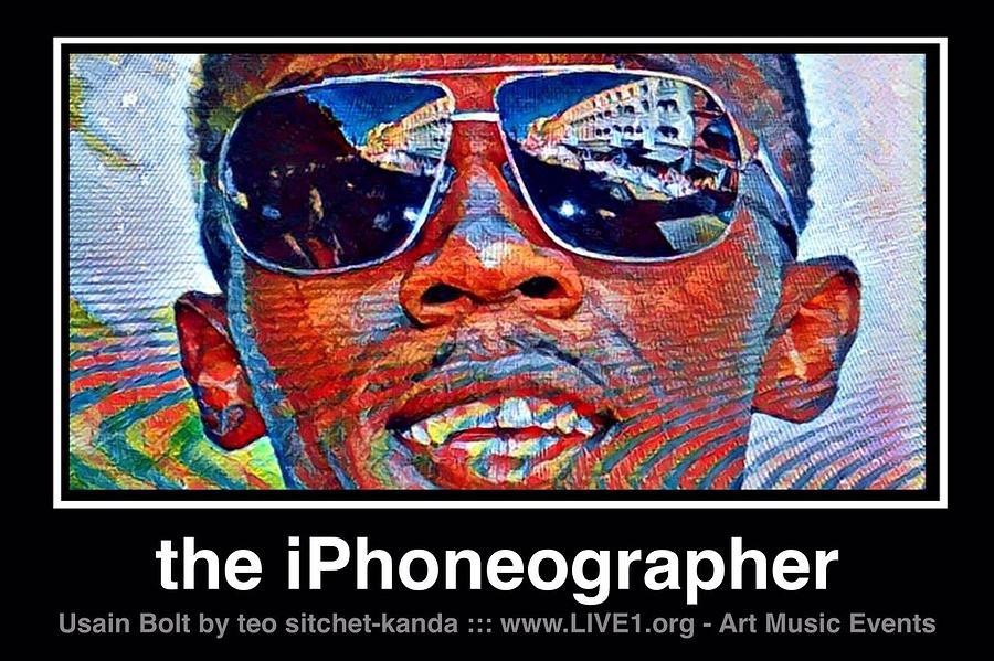 Legend Photograph - Usain Bolt Victory by Teo SITCHET-KANDA