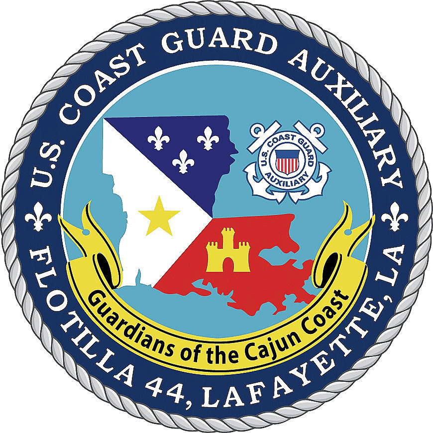 USCGA Flotilla 44 Logo by Gregory Daley  MPSA