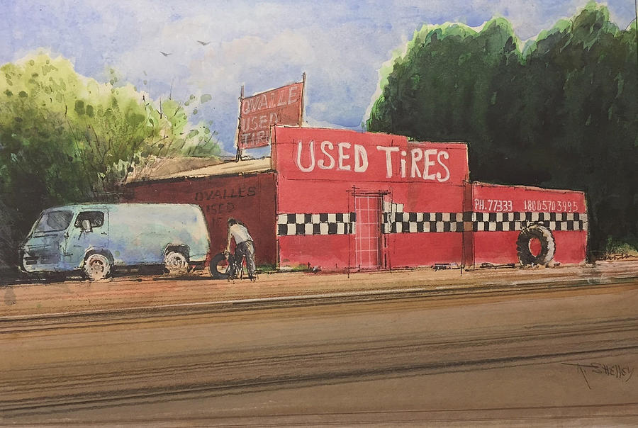 Used Tires by Ronald Shelley