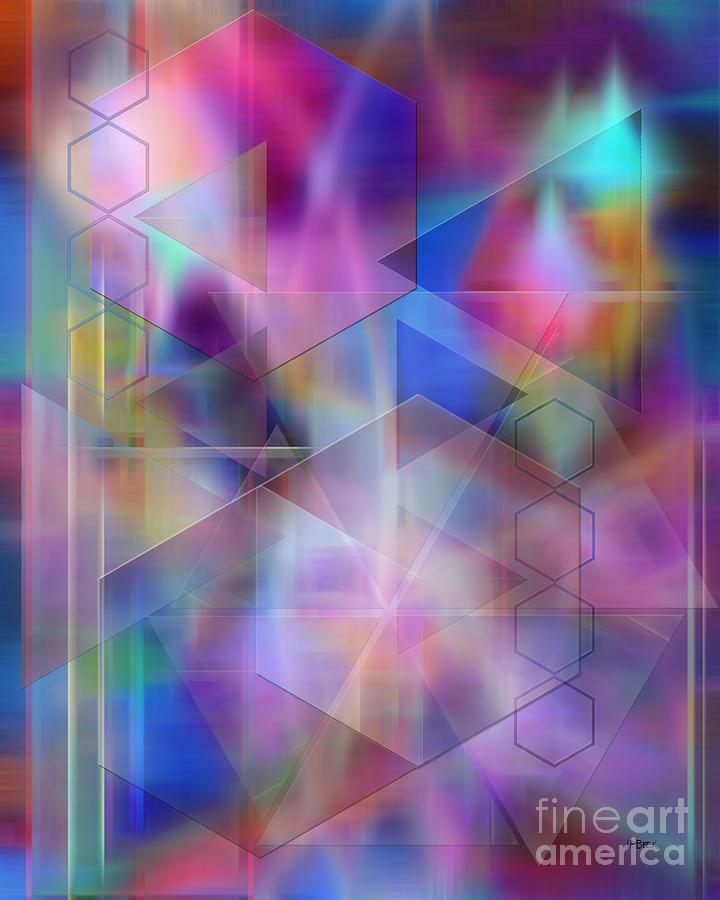 Usonian Digital Art - Usonian Dreams by John Beck