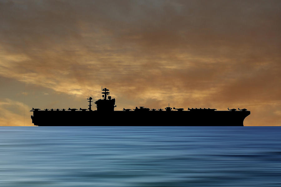Uss Abraham Lincoln Photograph - USS Abraham Lincoln 1988 v2 by Smart Aviation