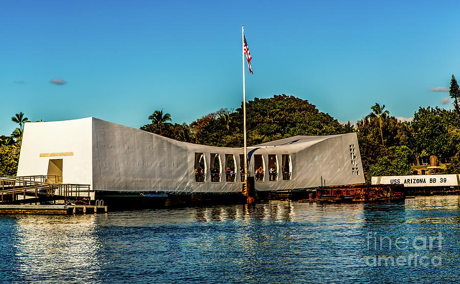 Uss Arizona Photograph - Uss Arizona Memorial by Jon Burch Photography
