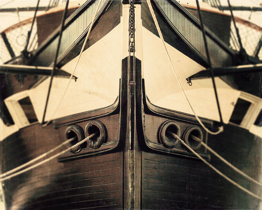 Uss Constellation Photograph - Uss Constellation by Lisa Russo