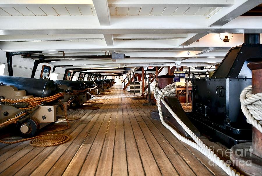 Uss Constellation Warship Photograph